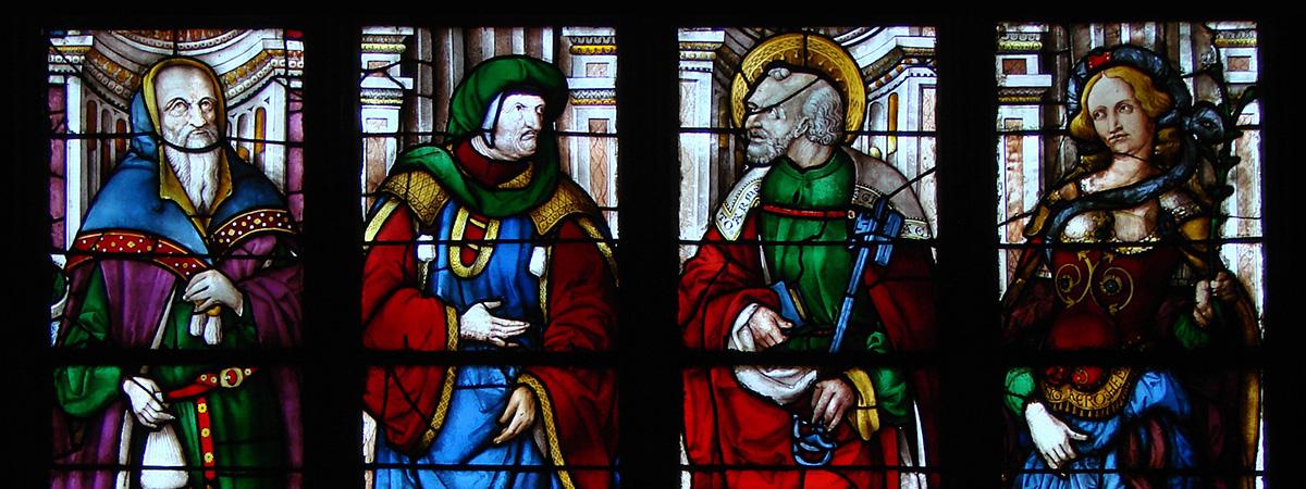 Cathédrale Sainte-Cécile : Les vitraux d'Arnaud de Moles - Auch Cathedral: stained glass windows by Arnaud de Moles - Catedral Santa María de Auch: las vidrieras de Arnaud de Moles