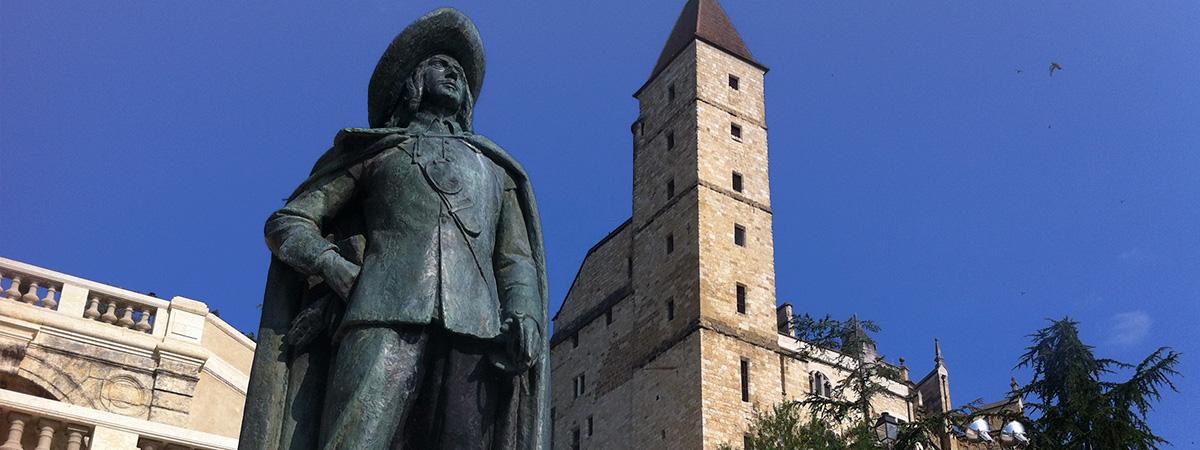 Auch : la statue de D'Artagnan - statue of D'Artagnan - Estatua de D'Artagnan