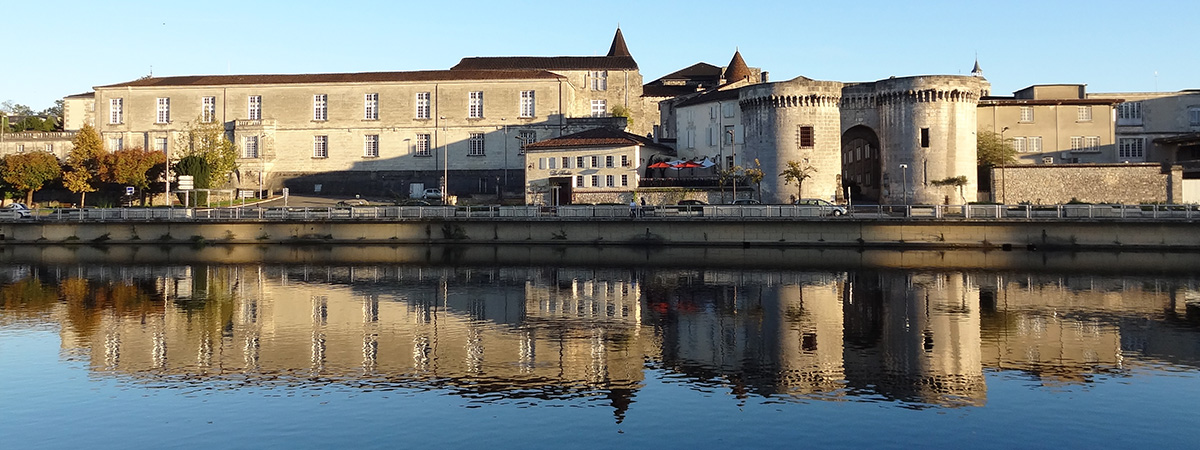 Le château de Cognac - Palacio de Coñac