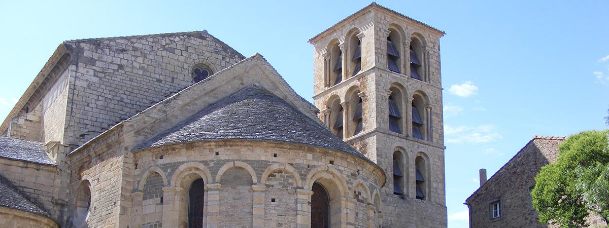 Domaine de Caunes Minervois - Caunes-Minervois Abbey - Dominio de Caunes-Minervois