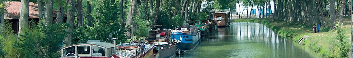 Le Canal du Midi à Toulouse