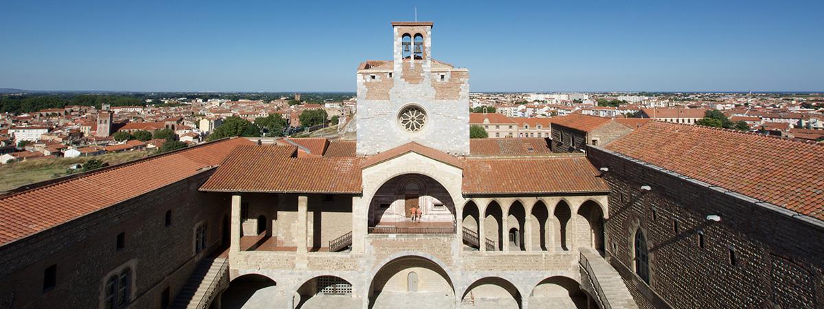 Palais des rois de Majorque - Perpignan - Palace of the Kings of Mallorca - Palacio de los reyes de Mallorca