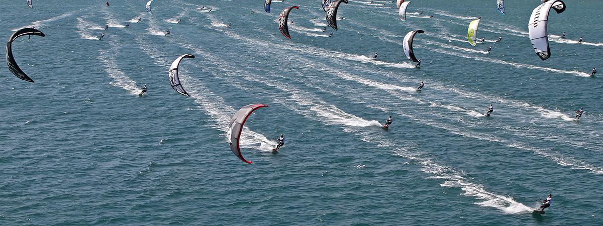 Mondial du vent : kitesurf à Leucate - The Mondial du Vent - El Mundial del Viento