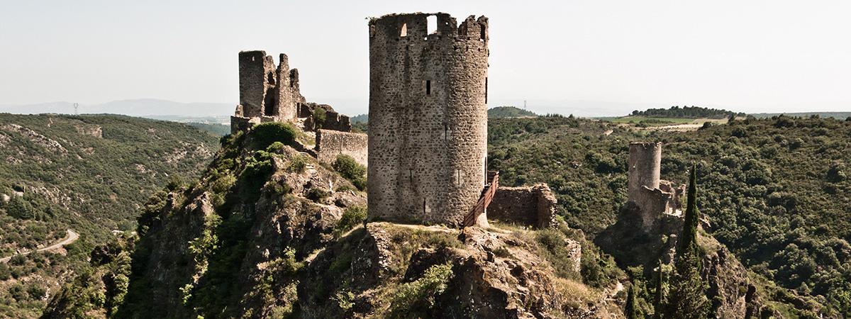 Tourisme du pays cathare au pays catalan - País Cátaro